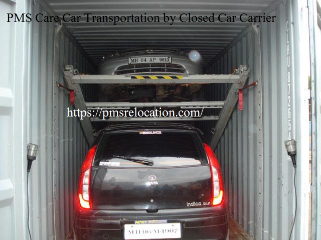 Car Transportation by Closed Car Carrier